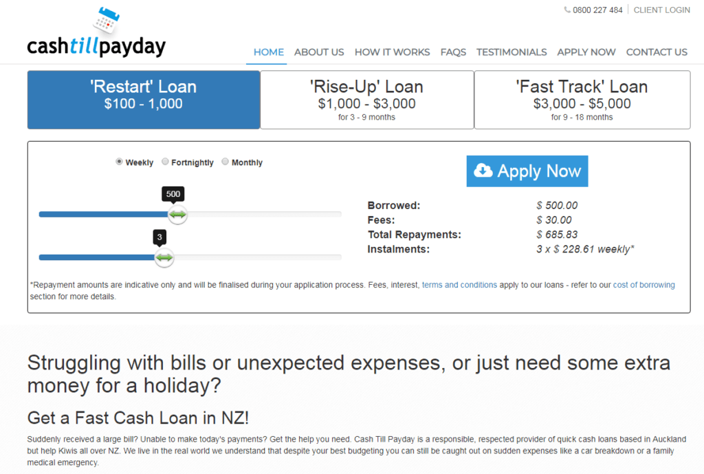 Easy Loans in New Zeland — IPay Loans
